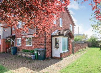 Thumbnail 2 bed end terrace house for sale in Saltersgate, Peterborough