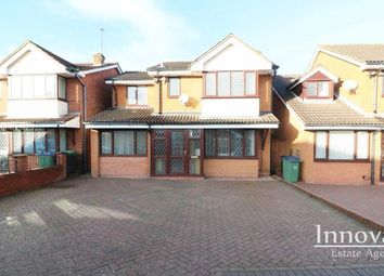 Thumbnail 4 bed detached house for sale in Laburnum Croft, Tividale, Oldbury