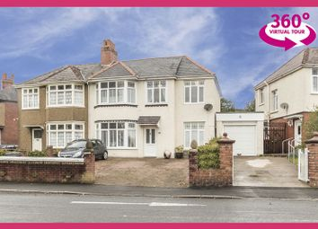 Thumbnail 4 bed semi-detached house for sale in Cae Perllan Road, Newport