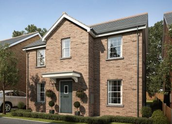 Thumbnail 4 bedroom detached house for sale in Plot 80, Mansion Gardens, Penllergaer, Swansea