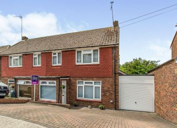 Thumbnail 3 bed semi-detached house for sale in Hurstwood, Davis Estate, Chatham