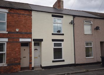 Thumbnail 3 bed terraced house to rent in Dickenson Road, Hasland, Chesterfield