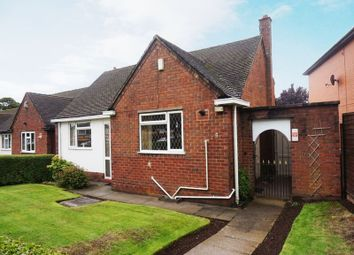 Thumbnail 2 bedroom detached bungalow for sale in Parkhall Road, Weston Coyney, Stoke-On-Trent, Staffordshire