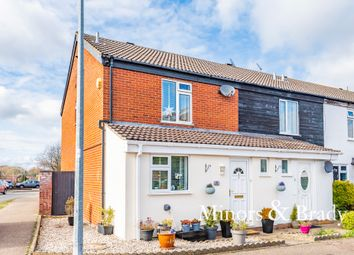 Thumbnail 3 bed end terrace house for sale in Cedar Avenue, Spixworth, Norwich