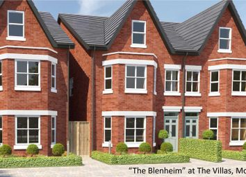 Thumbnail 4 bed semi-detached house for sale in The Villas, Moss Lane, Bramhall