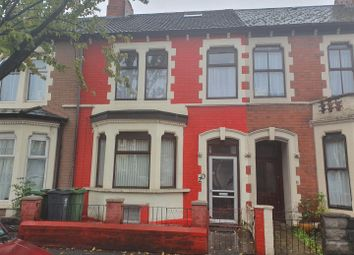 Thumbnail 6 bed terraced house for sale in Corporation Road, Grangetown, Cardiff