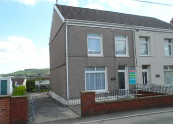 Thumbnail 3 bed semi-detached house for sale in Heol Eglwys, Coelbren, Neath