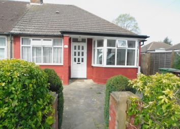 Thumbnail 3 bed bungalow to rent in Somervell Road, Harrow