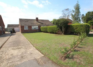 Thumbnail 2 bed semi-detached bungalow for sale in Old Chapel Road, Freethorpe, Norwich