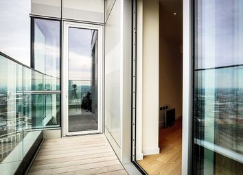 Thumbnail 2 bed flat for sale in Biscayne Avenue, Canary Wharf London