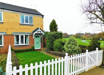 Thumbnail 2 bed semi-detached house for sale in Castle Court, Stone, Staffordshire