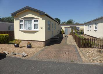 Thumbnail 2 bed mobile/park home for sale in Burway Crescent, Penton Park, Chertsey