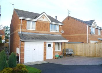 Thumbnail 3 bed detached house for sale in Well Appointed Detached House Ayton Court, Bedlington, Northumberland