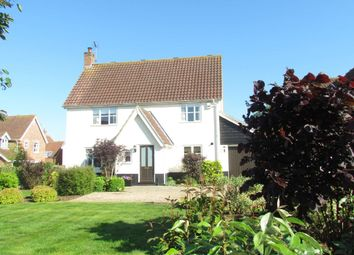 Thumbnail 4 bed detached house for sale in Holmere Drive, Halesworth