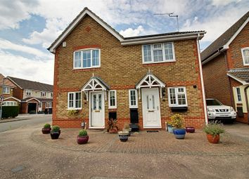 Thumbnail 2 bed semi-detached house for sale in Dairyglen Avenue, Cheshunt, Waltham Cross
