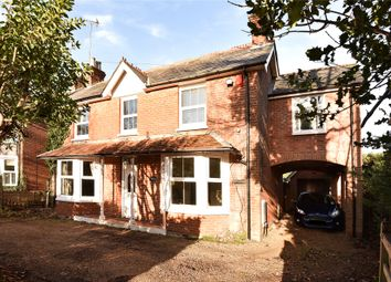 Thumbnail 4 bed detached house for sale in Reading Road, Blackwater, Camberley