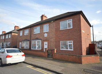 Thumbnail 4 bed semi-detached house for sale in Kedleston Road, Evington, Leicester