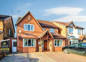 Thumbnail 4 bed detached house for sale in Eaton Close, Hatton, Derby