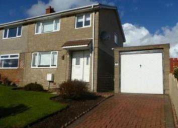 Thumbnail 3 bed semi-detached house to rent in Glenview Crescent, Moodiesburn, Glasgow