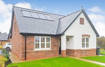 Thumbnail 3 bed detached house for sale in 28 Summerpark Road, Dumfries