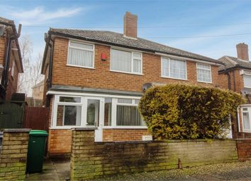 Thumbnail 3 bedroom semi-detached house for sale in Leacroft Grove, West Bromwich, West Midlands