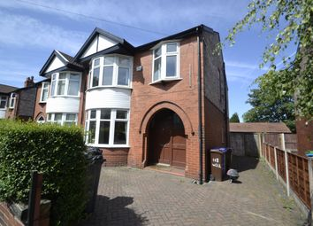 Thumbnail 4 bed semi-detached house for sale in Wellington Road, Fallowfield