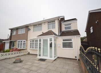 Thumbnail 4 bedroom semi-detached house for sale in Sherwoods Lane, Liverpool