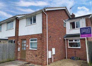 Thumbnail 3 bed end terrace house for sale in Loxley Close, Warwick