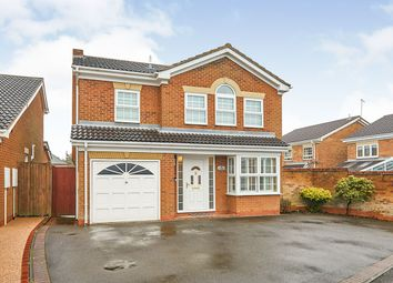 Thumbnail 4 bed detached house for sale in Claymar Drive, Newhall, Swadlincote, Derbyshire