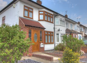 Thumbnail 3 bed semi-detached house for sale in Isis Drive, Cranham, Upminster