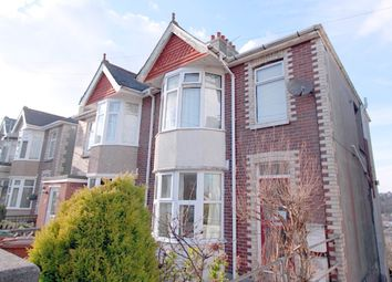 Thumbnail 1 bed flat to rent in Ladysmith Road, Plymouth