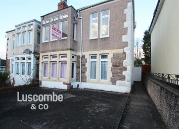 Thumbnail 4 bed semi-detached house to rent in Woodland Park Road, Newport