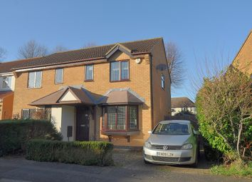 Thumbnail 3 bed semi-detached house to rent in Symonds Road, Hitchin