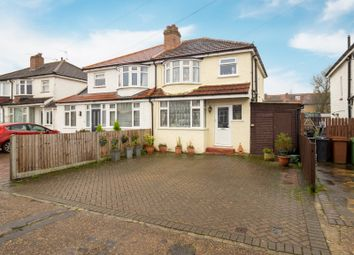 Thumbnail 3 bed semi-detached house for sale in Southville Close, Epsom, Surrey