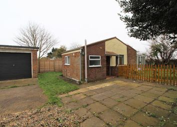 Thumbnail 2 bed detached bungalow for sale in Beach Road, Sea Palling, Norwich