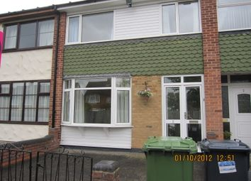 Thumbnail 3 bed terraced house to rent in Beamans Close, Solihull 92 7A