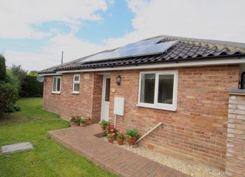 Thumbnail 2 bed detached bungalow to rent in Dovedale Road, Tacolneston, Norwich