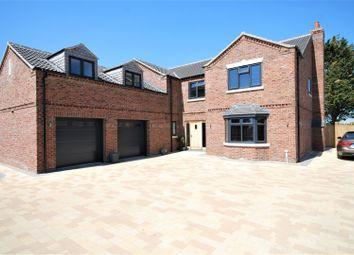 Thumbnail 5 bed detached house for sale in Austendyke Road, Weston Hills, Spalding