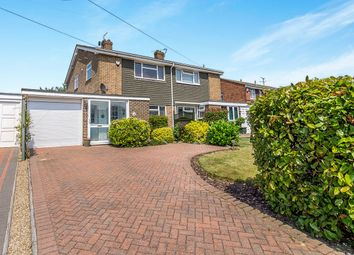 Thumbnail 3 bed semi-detached house for sale in Canon Close, Rochester