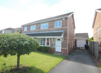 Thumbnail 3 bed semi-detached house to rent in Abbey Gardens, Willington, Crook