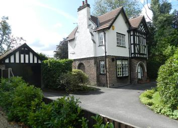 Thumbnail 4 bed detached house for sale in Common Lane, Culcheth, Warrington