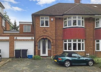 Thumbnail 4 bed semi-detached house for sale in Coolgardie Avenue, Chigwell, Essex