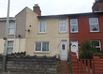 Thumbnail 2 bedroom terraced house for sale in Cricklade Road, Gorse Hill, Swindon