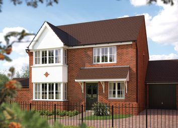 "Thumbnail 4 bed detached house for sale in ""The Canterbury"" at Bowbrook, Shrewsbury"