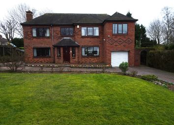 Thumbnail 4 bed detached house for sale in Weston Road, Weston Coyney, Stoke-On-Trent