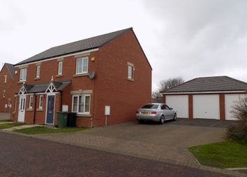 Thumbnail 3 bed semi-detached house to rent in Barnwell View, Herrington Burn, Houghton Le Spring