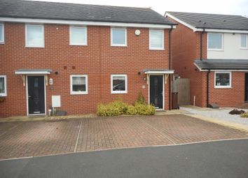 Thumbnail 2 bed end terrace house for sale in Oval Drive, Fordhouses, Wolverhampton
