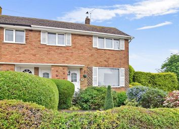 Thumbnail 3 bed end terrace house for sale in Laburnum Road, Rochester, Kent