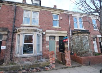 Thumbnail 4 bed maisonette for sale in Mundella Terrace, Heaton, Newcastle Upon Tyne