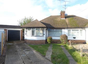 Thumbnail 2 bed semi-detached bungalow to rent in Hathaway Close, Luton